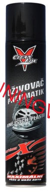 Oživovač pneu a plastů CLEAN FOX 400ml