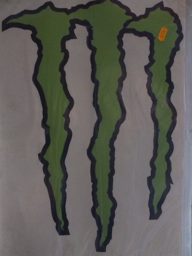 monster energy 47x34cm