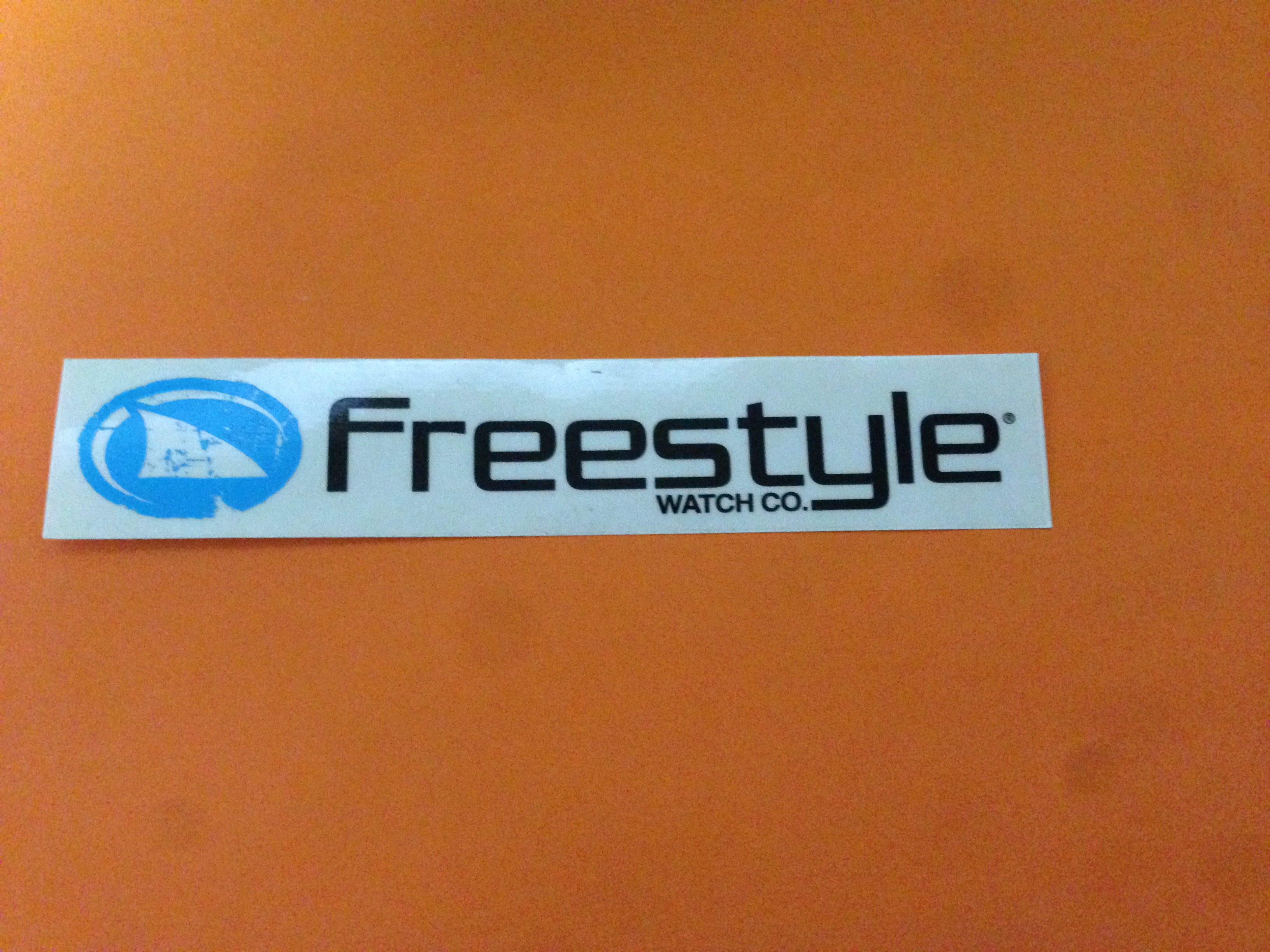 freestyle watch co černá 12x3cm