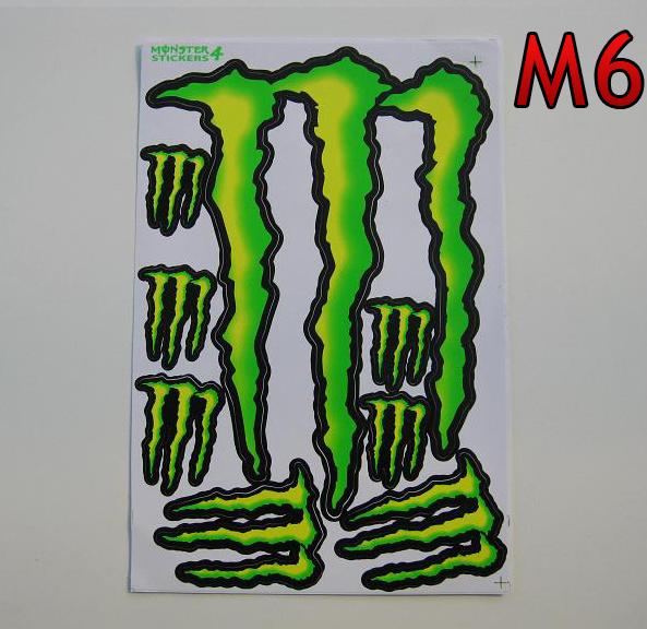 Monster Energy M6  arch 27x18cm