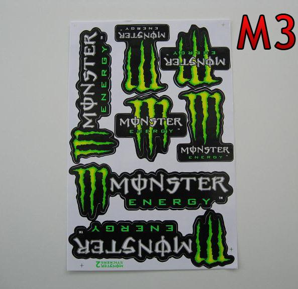 Monster Energy M3  arch 27x18cm