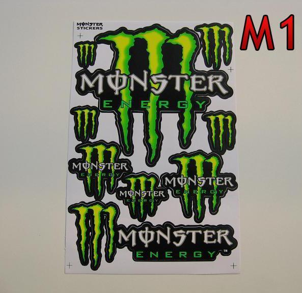 Monster Energy M1  arch 27x18cm