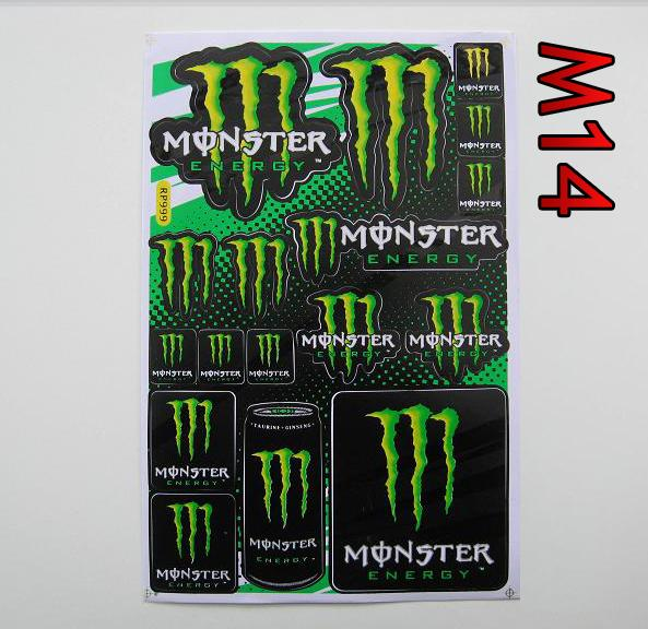 arch monster energy M14 27x18cm