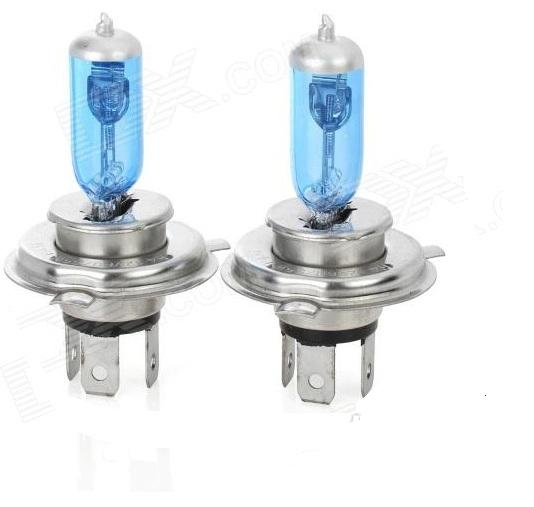 H4 12v 100/90w 5500K Halogen Super White